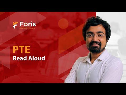 PTE Academic - Read Aloud by Akash sir