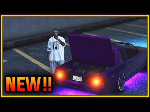 GTA 5 Lowriders DLC - How To Use Hydraulics, Secret & Hidden Features In GTA (GTA 5 Online)