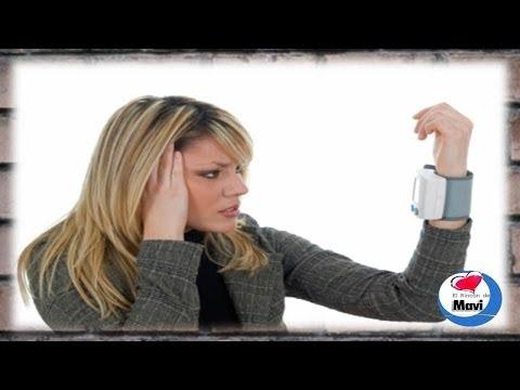 Agua con gas para hipertensiva