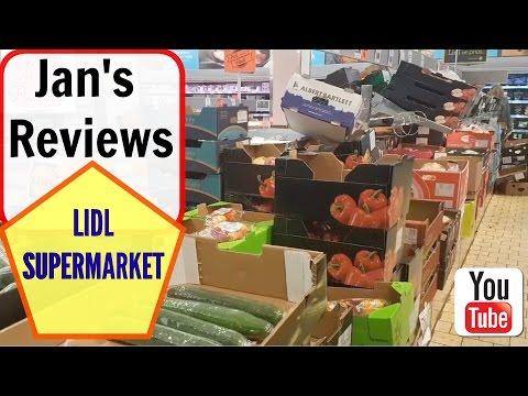 LIDL SUPERMARKET REVIEW, LIDL REVIEW, FOOD, CHEAP, Jan's Reviews