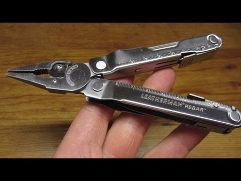 Leatherman Rebar Multi-Tool Review
