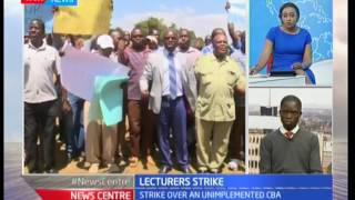 University lecturers set to go on strike over unimplemented CBA