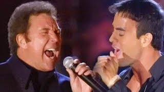 Enrique Iglesias & Tom Jones - Fire (LIVE)