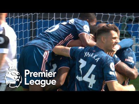 Gabriel doubles Arsenal's lead against Fulham   Premier League   NBC Sports