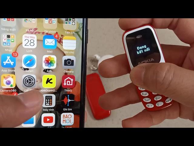 Điện Thoại Mini Siêu Nhỏ 3310MINI – 2 Sim 2 Sóng, Nghe Nhạc MP3, Đổi Kiểu Giọng Nói Khi Nghe Gọi – Thiết Kế Nhỏ Gọn Dễ Cất Giấu