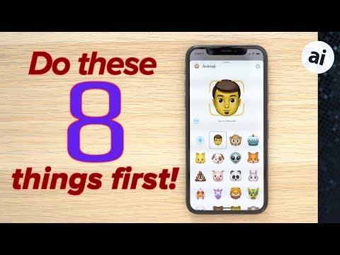 iPhone XR / XS - First 8 things you should do!