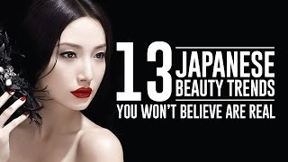 13 Outrageous Modern Japanese Beauty Trends That Actually Exists - Video Youtube