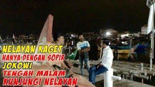Kunjungan Rahasia Jokowi, Kagetkan Nelayan Tambak Lorok