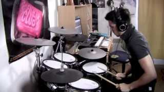 Linkin Park High Quality Mp3 - Session - Drum Cover By Adrien - Steven Slate Drums 4