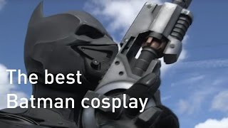 Batman cosplay suit with 23 functioning gadgets wins Guinness World Record
