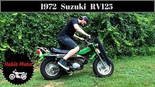 1972 Suzuki RV125 Craigslist Find!  Test ride and Top Speed