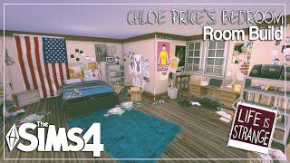 The Sims 4: Room Build   Life Is Strange   Chloe Price's Bedroom