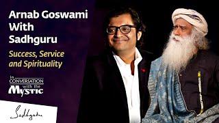 Arnab With Sadhguru - In Conversation with the Mystic @New Delhi 2017