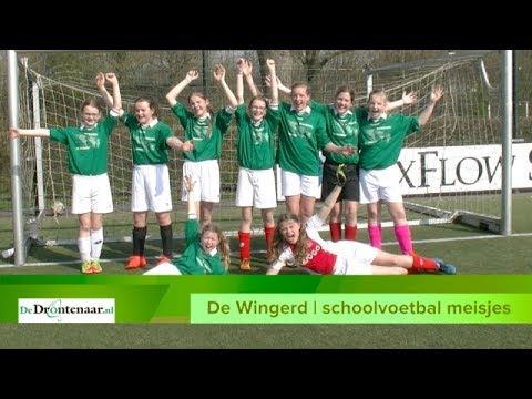 VIDEO | Bijna alle meiden van winnende basisschool De Wingerd zitten op voetbal