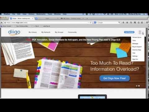 How to Use Diigo in Firefox