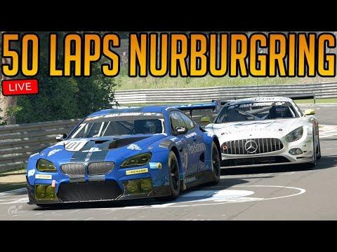 Gran Turismo Sport: 50 Laps of Nurburgring Nordschleife   7 Hour Endurance Race!