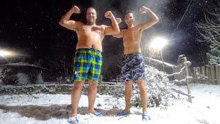 Inside Russia!! EPIC RUSSIAN FOOD + 95°C Russian Steam Bath (Sauna) in Snow!!   Suzdal, Russia!