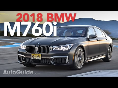 2018 bmw m760i review carultra. Black Bedroom Furniture Sets. Home Design Ideas