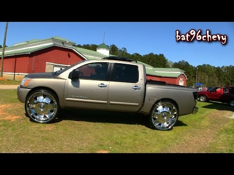 "Nissan Titan Truck on 32"" DUB Bandito Wheels - 1080p HD"
