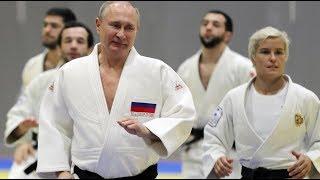 СМОТРЕТЬ до конца \ Путин получил травму во время тренировки по дзюдо \ И щит из машин во Владимире