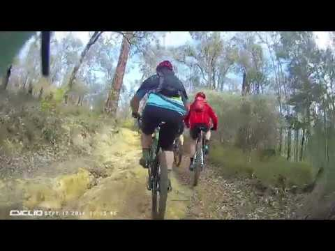 Onboard with #CycliqAthlete Nick Algie for the Kalamunda Classic
