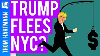 Trump Flees To Avoid Taxes!