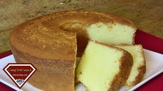 Homemade 7up Pound Cake Recipe- From Scratch |Cooking With Carolyn|