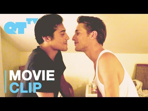 Two Hot Guys Kiss Each Other Because They Want Two Girls To Make Out   'Happy'