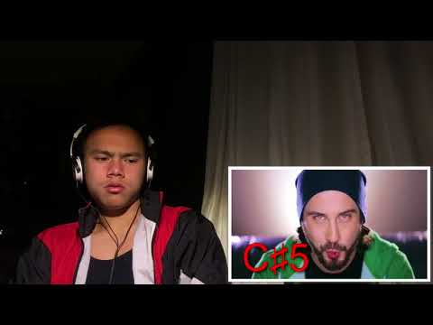 Mitch Grassi's High Notes Reaction
