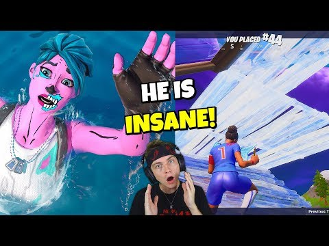 i drowned and spectated this amazing BUILDER in fortnite... (shocking)