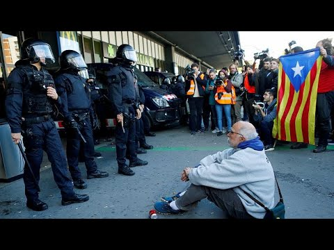 Νέα κινητοποίηση στην Καταλονία