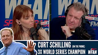 "Curt Schilling Has ""NO DOUBT"" The Astros used Buzzers - Moose & Maggie"
