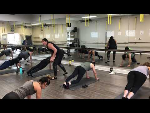 Test Out Example: Full Length Barre Intensity Class - YouTube