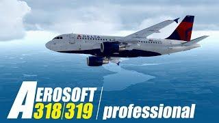 Aerosoft A318/A319 professional – Trailer