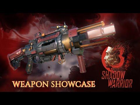 met en avant ses flingues de Shadow Warrior 3