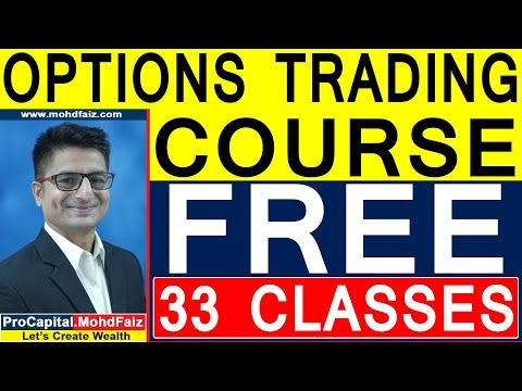 OPTIONS TRADING COURSE FOR BEGINNERS | FREE 33 CLASSES | BIBLE OF OPTIONS