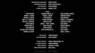 'True Memoirs of an International Assassin' -  Autotune ending credits