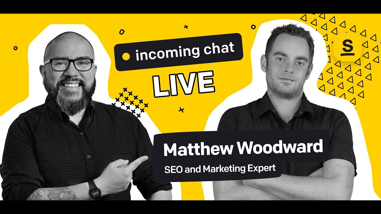 Incoming Chat #10: 3 Things You Can Do Right Now To Increase Your Search Traffic in 2021