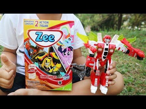 Susu zee jumbo   dapat hadiah transformers atau my little pony