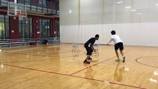 Using the Ball Screen: Splitting the Defenders