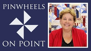 Make A Pinwheels On Point With Fence Rail Quilt With Jenny Doan Of Missouri Star! (Video Tutorial)