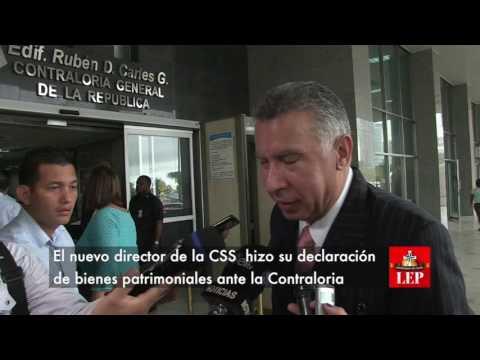 Martiz presenta declaración de bienes patrimoniales