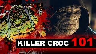 Suicide Squad Movie 2016 - Killer Croc aka Adewale Akinnuoye-Agbaje - Beyond The Trailer