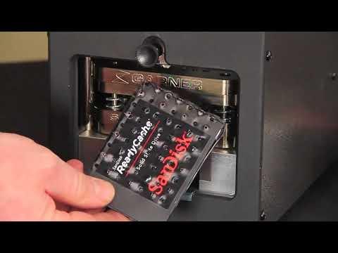 Video of the Garner PD-5E Table Top Hard Drive Destroyer Shredder