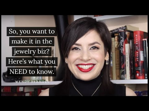 Biz lessons: So you want to be a jewelry designer? Here's what you NEED to know!