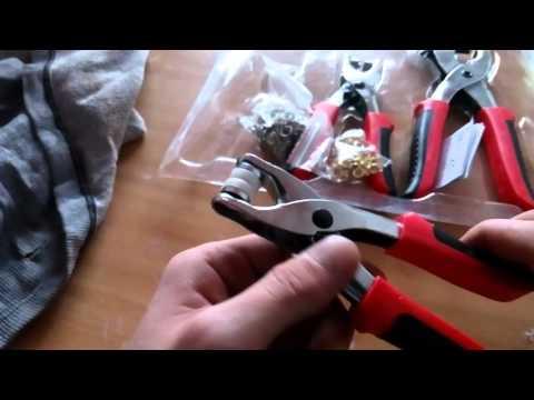 Powerfix Profi Punch Pliers Set / Клещи за дупки, копчета и халки