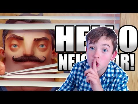 HELLO NEIGHBOR PRIMER GAMEPLAY! HELP! (JUEGO FINAL)
