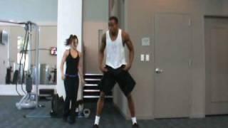 Dre Baldwin: Lateral Disc Jumps Pt. 1 | NBA Fit Explosive Plyometric Drills Speed Quickness Vertical