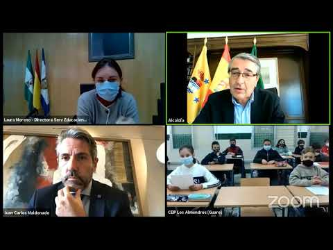 Escolares de Guaro participan en el Pleno Infantil de la Diputación con motivo del Día de la Constitución