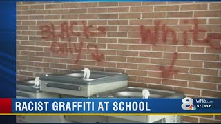 Deputies investigating racist, sexist graffiti found all over Leto High School